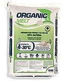 Eco Solutions Organic Melt Premium Granular Ice & Snow Melt - Pet Friendly, Plant and Concrete Safe...