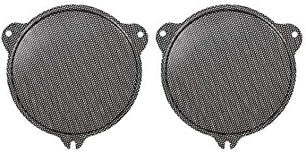 XMMT Black Metal Batwing Fairings Front Mesh Speaker Grill Replacement for Harley Touring Electra Street Glide Ultra Limited & Trike 2014-2019