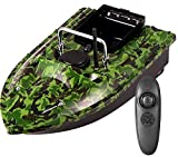 Crtkoiwa Bateau d'appât de pêche intelligent, télécommande intelligente 500M,Crtkoiwa chargement de bac unique de 1,5 kg, longue portée, correction automatique de l'itinéraire