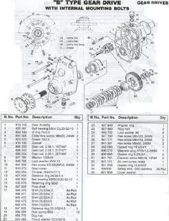 Rotax Service Repair Overhaul Service Manual 582 Ul Engine 462 532