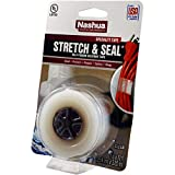 Nashua - 1541204 1 in. x 10 ft. Stretch & Seal Self-Fusing Silicone Tape in Clear