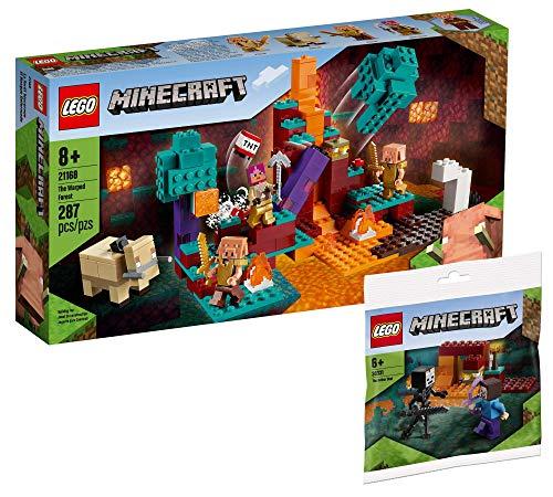 Collectix Lego Set - Minecraft Der Wirrwald 21168 + Minecraft Das Nether-Duell 30331