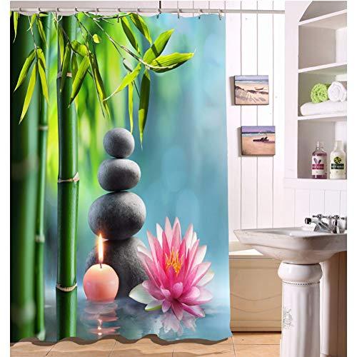 cortinas de baño buda