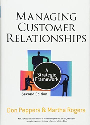 Managing Customer Relationships: A Strategic Framework