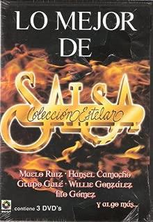 Lo Mejor De La Salsa Coleccion Estelar Contiene 3 Dvd's 45 Videos.