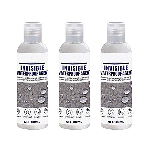 N / A 3 Pcs Super Strong Bonding Spray Adhesive Sealant Permeable Invisible Waterproof Agent- 100ml,Nano Leak-Trapping Spray for Bathroom Tile Wall Roof Roofing