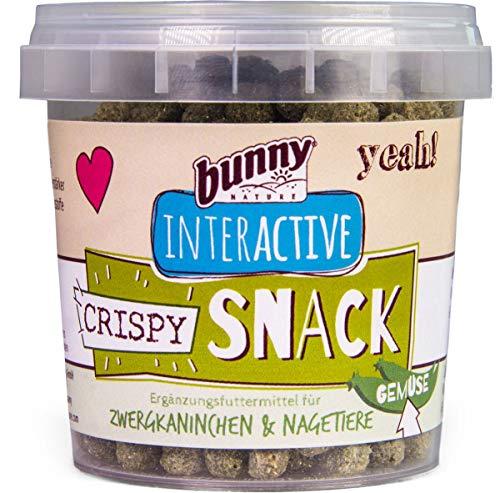 Bunny Nature Interactive Crispy Snacks - Légumes - 30 g
