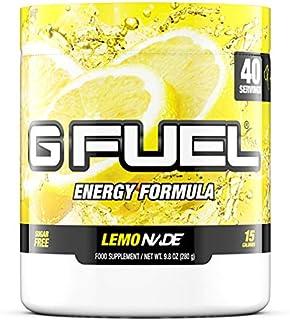 G Fuel Lemonade Tub (40 Servings) Elite Energy and Endurance Formula,9.8 ounces