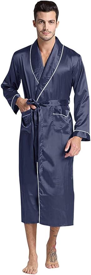 1960s Men's Clothing Regency New York Mens Silky Satin Robe  AT vintagedancer.com
