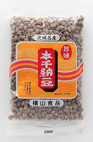 横山食品 珍味 本干納豆(白)200g入