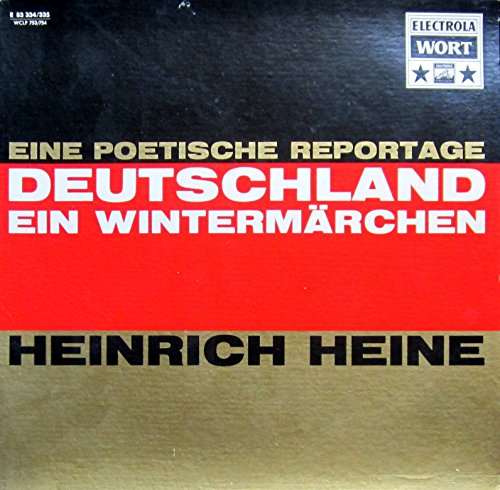 Deutschland. Ein Wintermärchen (eine poetische Reportage) [Vinyl Schallplatte] [2 LP Box-Set]