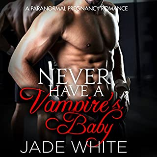 Never Have a Vampire's Baby audiobook cover art