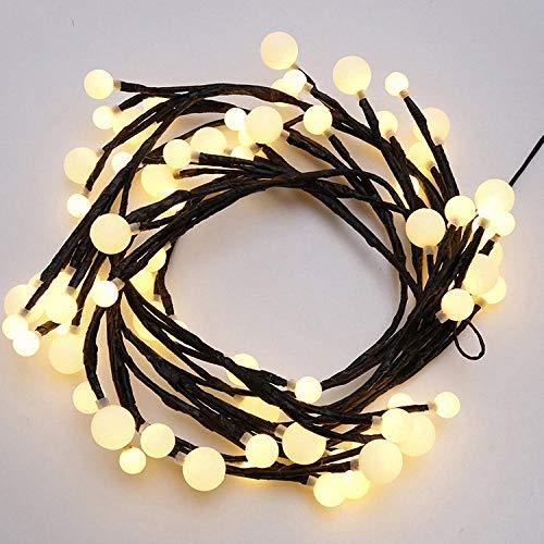 Baja presión 2.5 m 72 luz pequeña bola iluminación led lámpara de...