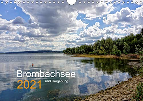 Brombachsee und Umgebung (Wandkalender 2021 DIN A4 quer)