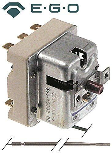 Thermostat de sécurité EGO Type 55.32562.806 pour Cocotte, Four électrique, cuisinière à gaz