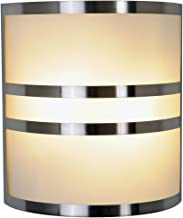 Monument 617605  Brushed Nickel Wall Sconce With Accents, 10 In.