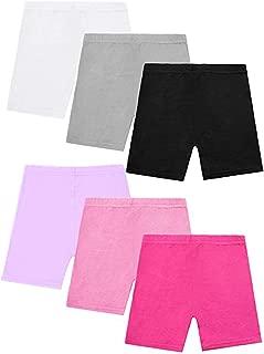 4 Pack Girls Lace Dance Shorts Under Skirts Gym Underwear Bike Shorts