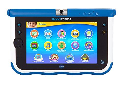 VTech 80-166804 - Tablet per Bambini Storio Max, Display 7 , Blu