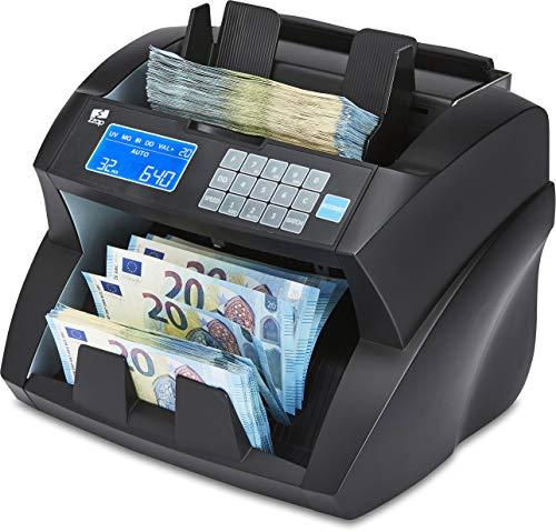 ZZap NC30 Banknotenzähler & Falschgeld-Detektor - Geldzählmaschine Geldzähler Banknotenzählmaschine