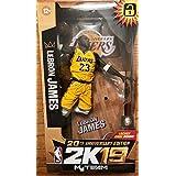 NBA 7インチ フィギュア 2K 19 シリーズ 限定品/レブロン・ジェームズ/ロサンゼルス・レイカーズ/20th アニバーサリーエディション/マクファーレントイズ