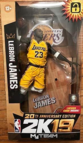 NBA 2K19 McFarlane Lebron James - Figura de accion (17,7 cm)