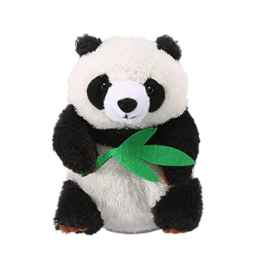 Yoego Talking Panda Repeats What You Say Educational Talking Toy Repeating Panda Toy Gift for Kids Age 3+ (Panda A)