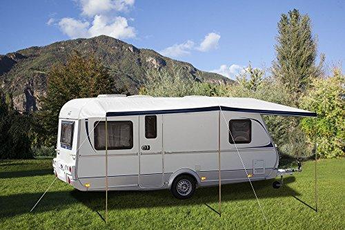 Brunner campingartikelen Nyala zonwering luifel voor caravans maat 5:-820 A 860 cm