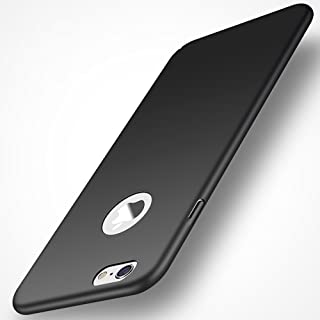 Avalri Thin Fit iPhone 6S Plus Case with Silky Surface and Minimalist for iPhone 6 Plus 5.5Inch (Silky Black)