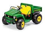 Peg Perego - vhicule electrique - John Deere Gator Tracteur 2 places avec benne basculante 12 volts