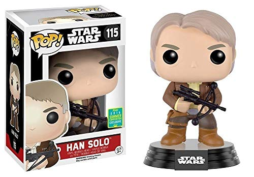Funko Pop Star Wars Han Solo With Chewbacca Bowcaster SDCC 2016 Exclusive Figure 115