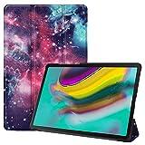 Fmway Funda para Tab S5e, Cuero Carcasa con Soporte Función y Auto Sueño/Estela para Samsung Galaxy Tab S5e T720 T725