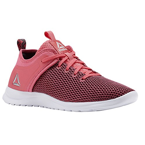 Reebok Damen Laufschuhe, solestead, Pink–(Victory Pink/Ash Grey/White)
