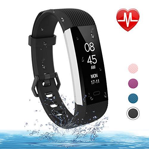Fitpolo Fitness Tracker -Slim Waterproof Smart Watch Heart Rate...