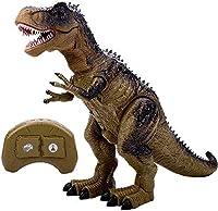 恐竜のおもちゃ大型電気赤外線リモコンスプレーイルミネーションサウンドシミュレーションティラノサウルスモデルおもちゃ男の子女の子クリスマス誕生日