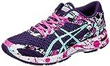 Asics Gel-Noosa Tri 11 Mujeres Running Trainers T676N Sneakers Zapatos (UK 7 US 9 EU 40.5, Parachute Purple Pink Glow 3378)