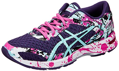 Asics Gel-Noosa Tri 11 Mujeres Running Trainers T676N Sneakers Zapatos (UK 8 US 10 EU 42, Parachute Purple Pink Glow 3378)