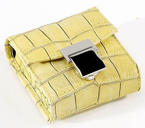 Homöopathie Madagaskar - Farolillo de bolsillo con 10 cristales transparentes, color amarillo