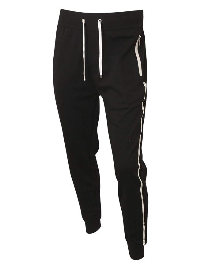 Hugo Boss Tracksuit Pants with Logo-Tape Side Seams 50403145 001 Black