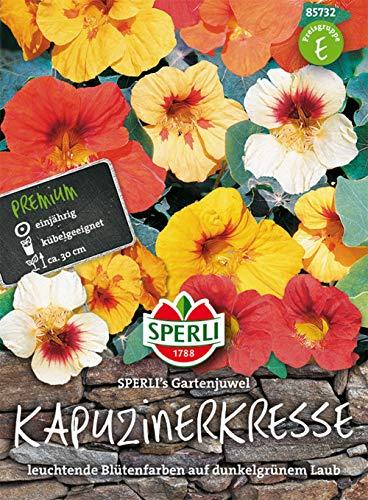 Sperli Kapuzinerkresse Sperli´s Gartenjuwel | Kübelgeeignet | Gartenblume | Packung Samen