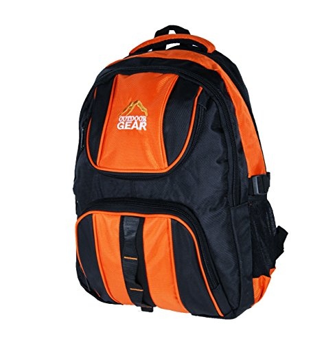 Outdoor Gear 5522 Sac à Dos Noir Orange 20 litres