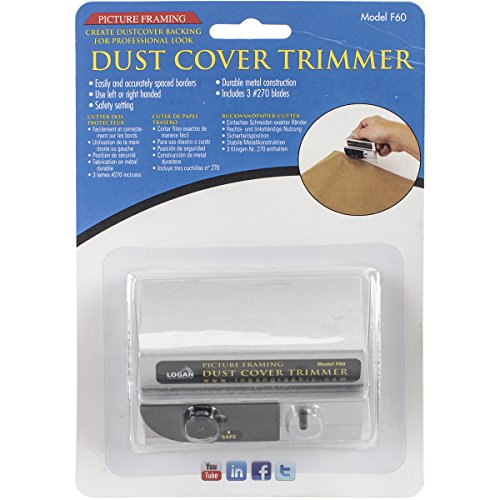 Logan Graphic Products Picture Framing Dust Cover Trimmer (F60)