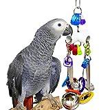 Angelof Accessoires pour Animaux De Compagnie Jouets Perroquet Oiseau Jouet CuillèRe Perroquet Cage Jouets InséParable Finch Cage