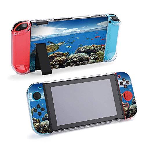 Carcasa protectora para consola y Joy-Con con protector de pantalla, agarre para pulgar Design30753
