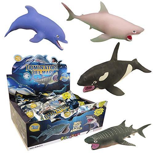 Sbabam Dominadores de los Mares, paquete de 3 bolsas Animal Discovery , color/modelo surtido
