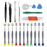Best iPhone Repair Kits - 21pcs Precision Screwdriver Set Magnetic,GangZhiBao Repair Tools Kit Review