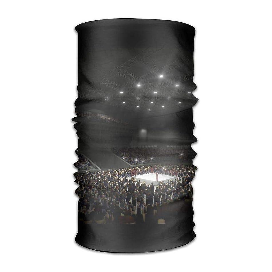 Owen Pullman Multifunctional Headwear Boxing Ring Head Wrap Elastic Turban Sport Headband Outdoor Sweatband
