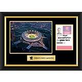 Juegos acreditación para hacer Marco de Pass London 2012 Olympics - de noche del estadio del
