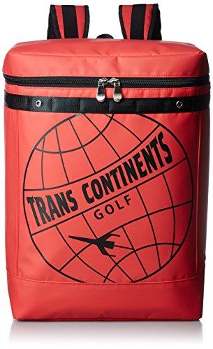 [トランスコンチネンツ] バックパック トランスコンチネンツゴルフ レッド