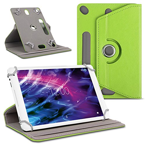 UC-Express Tablet Schutzhülle für Medion Lifetab P10610 P10606 P9701 P10602 X10605 X10607 P9702 X10302 P10400 Tablet Kunstleder Cover Case Tasche Hülle, Farben:Grün