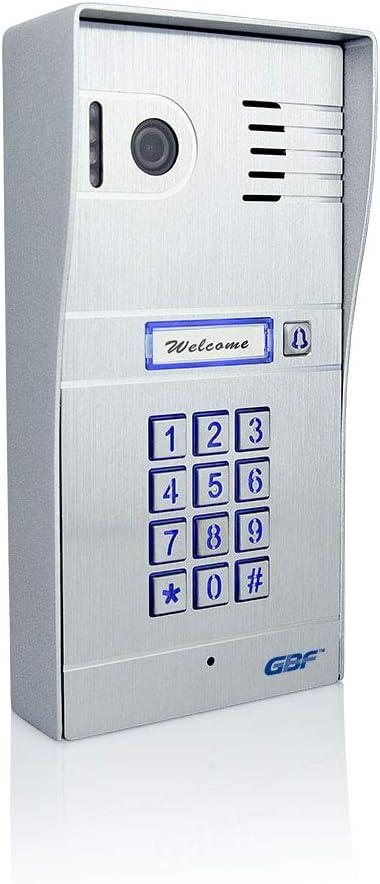 GBF Wireless Video Door Phone & Doorbell WiFi Intercom System Kit,1080P HD, Smart Keypad, One WiFi 7